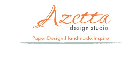 Azetta Design Studio with tag line
